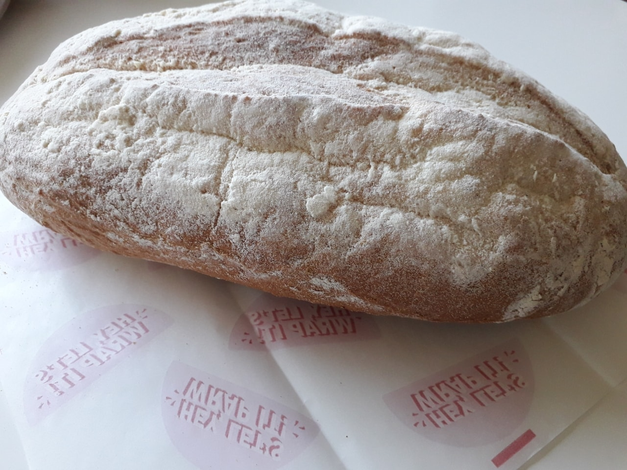 Big italiensk bread from Lindquists 5/1