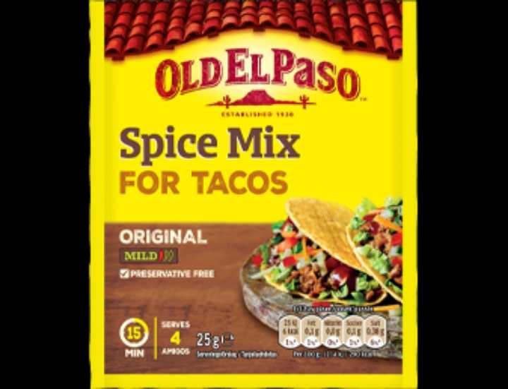 Taco spice mix