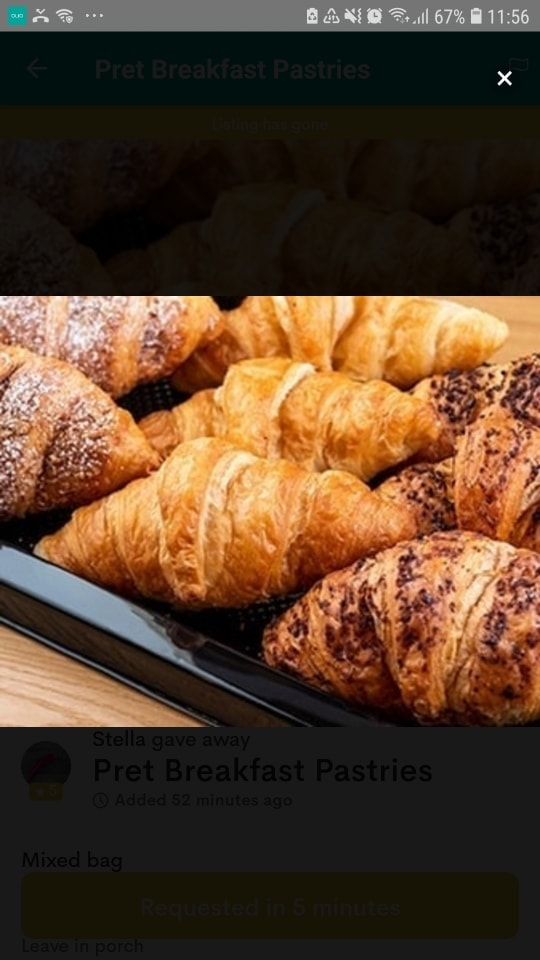 Pret A Manager - Pastries