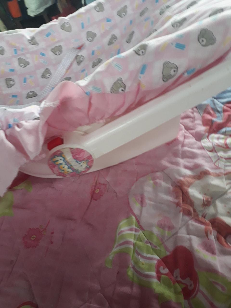 Sillita mecedora para bebé