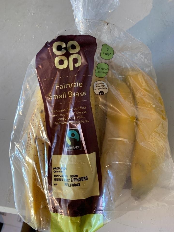 Fair trade bananas