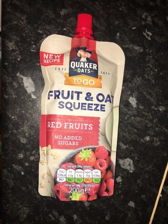 Fruit & oats Quaker Oats
