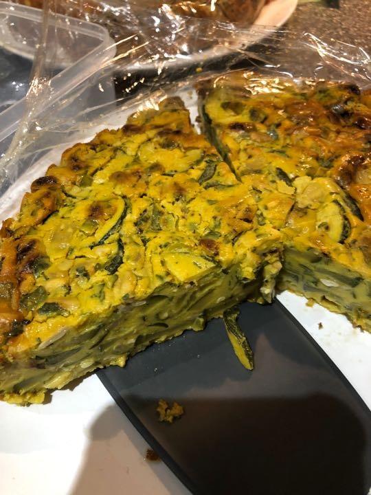 Planet KuKu aubergine vegan slice