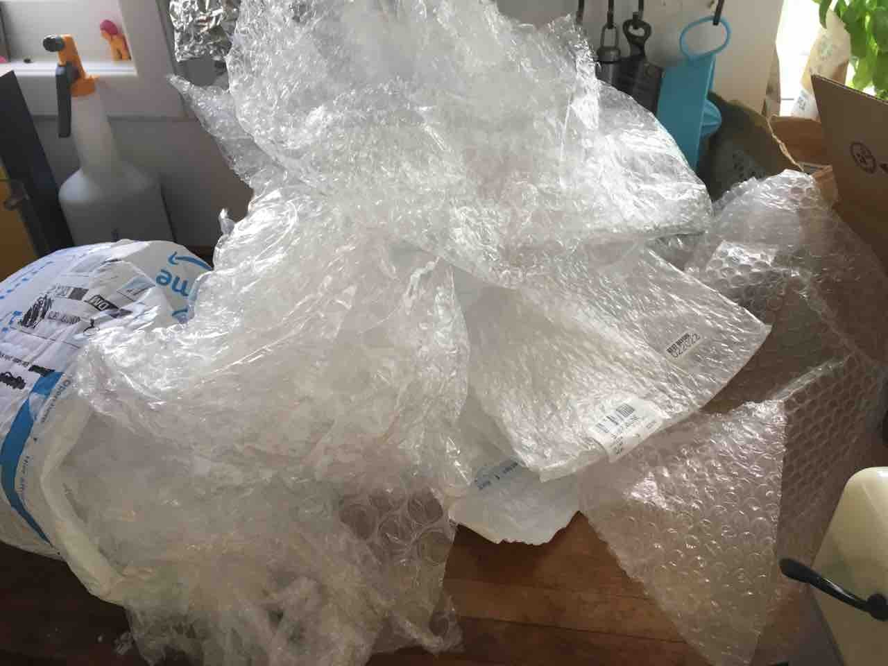 Mixed lot of Bubble Wrap