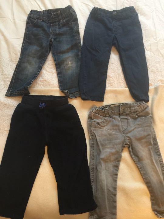 4 pairs 1 1/2- 2 yrs boys bottoms