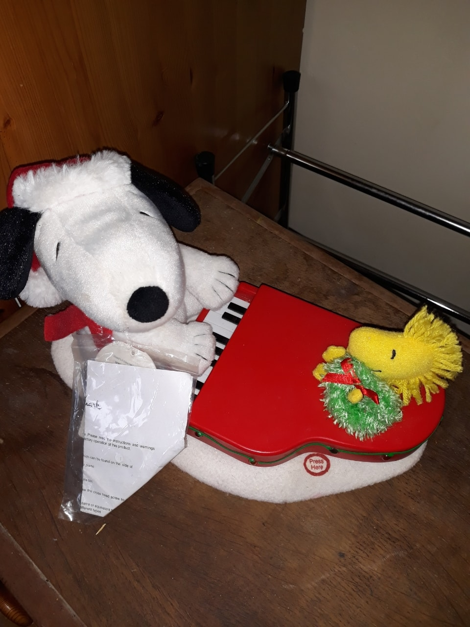 Snoopy ornament - not working!