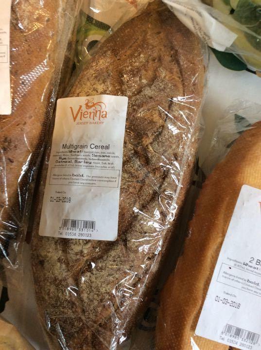 Multigrain cereal loaf