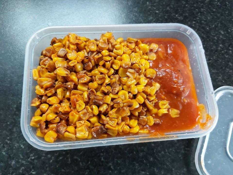 Chicken Sweetcorn Curry