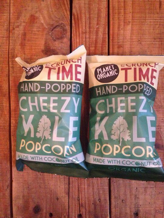 Planet Organic Cheezy Kale Popcorn
