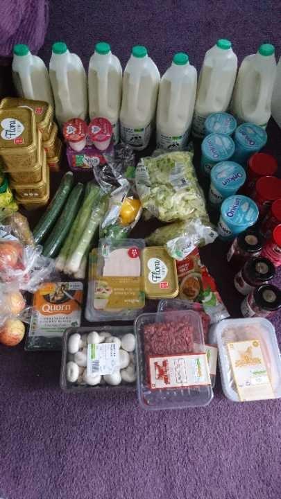 The food challenge... Huge amounts