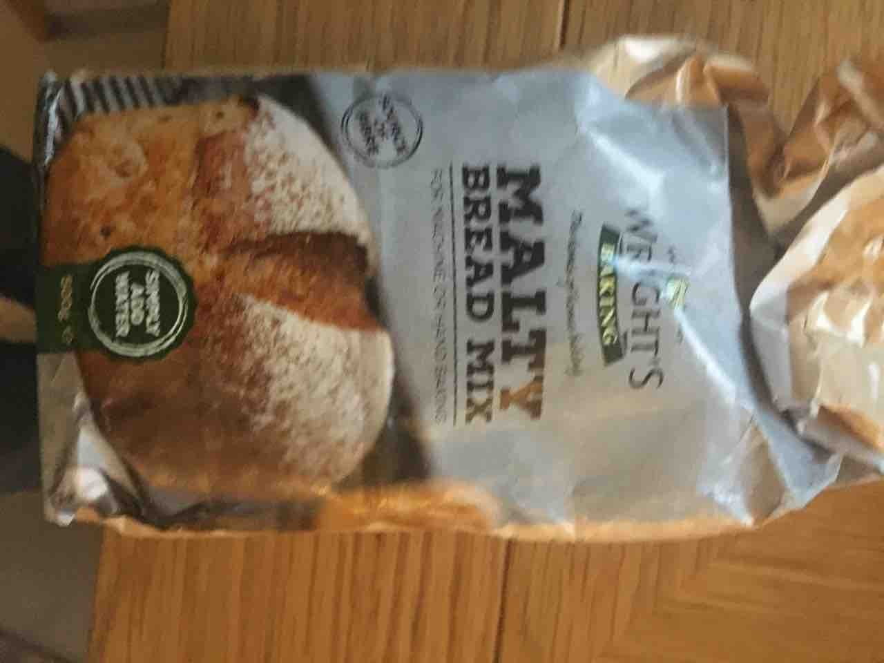 Wrights malty bread mix