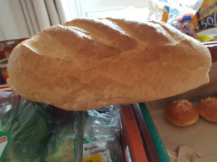 large fresh loaf