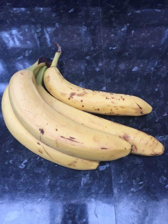 Large ripe bananas