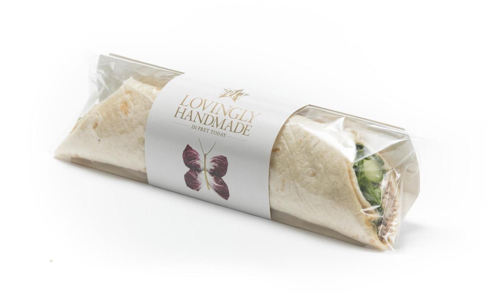 Humous chipotle wrap