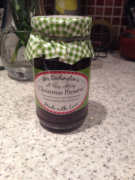 Mrs Darlington's christmas preserve