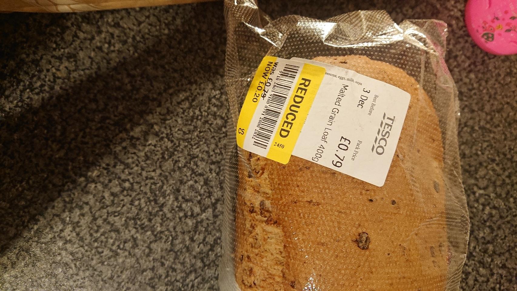 Malted grain loaf