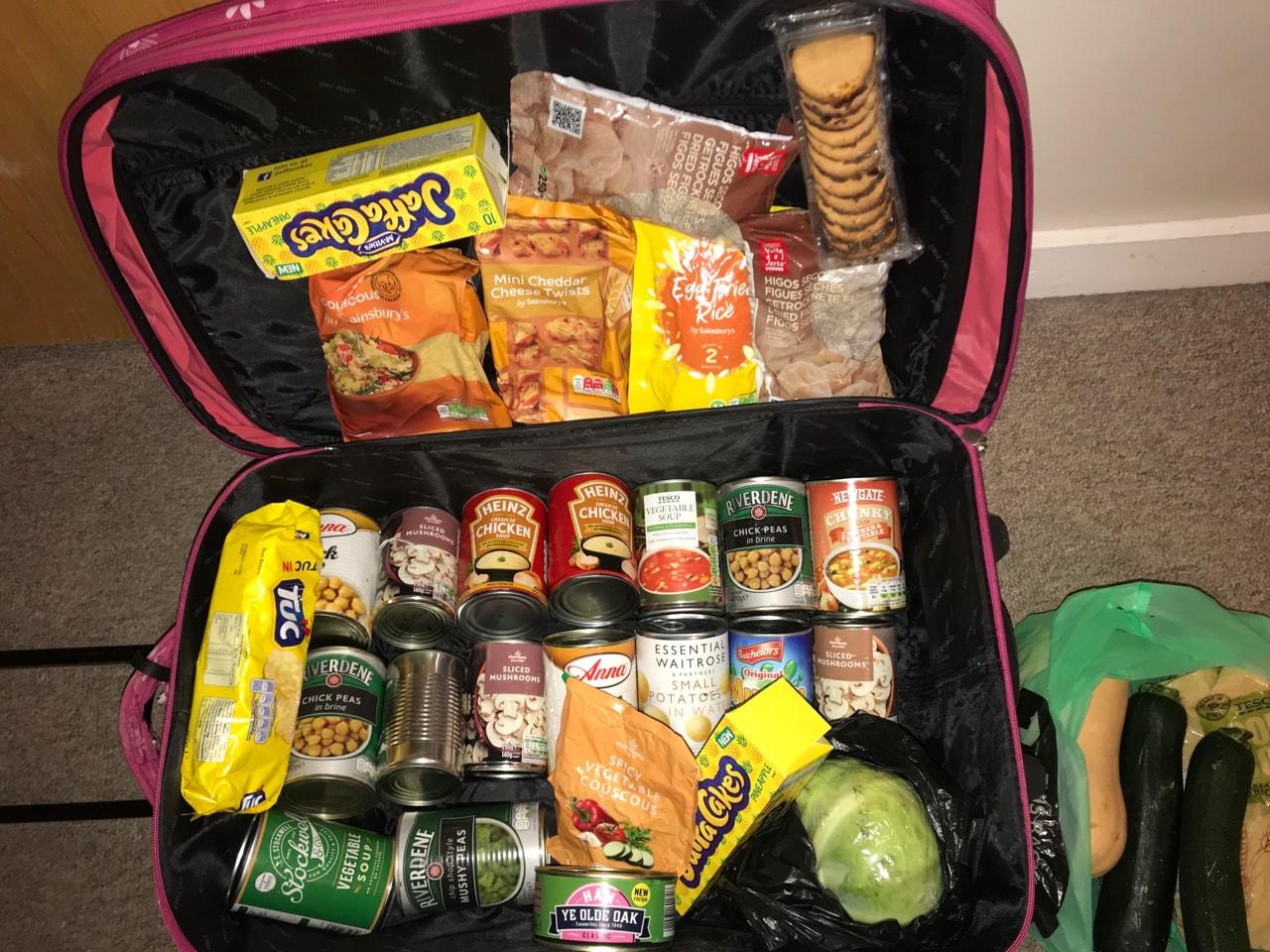 Random food items