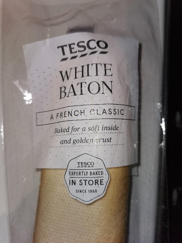 White baton