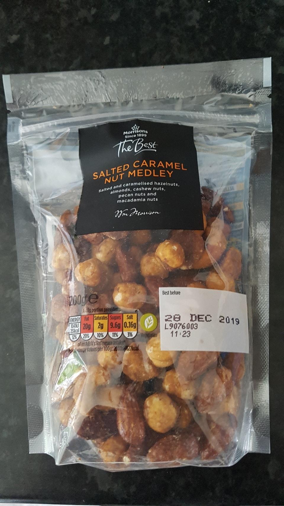 Salted caramel nut medley