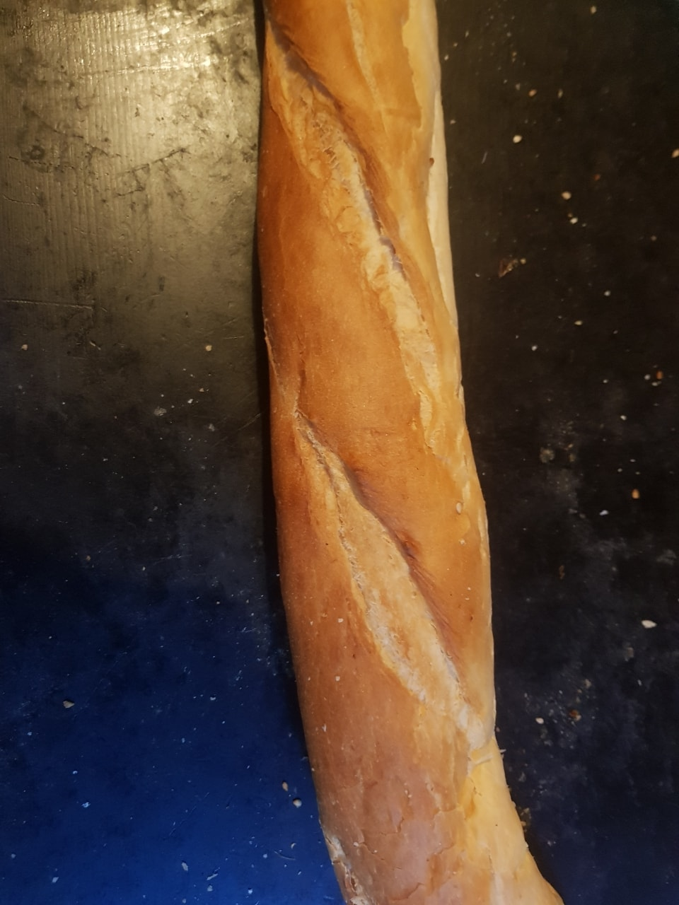 Two full size French baguette