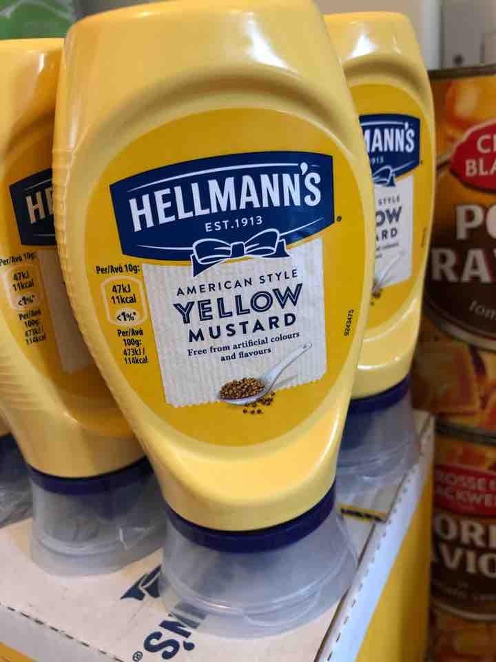 Yellow mustard American style