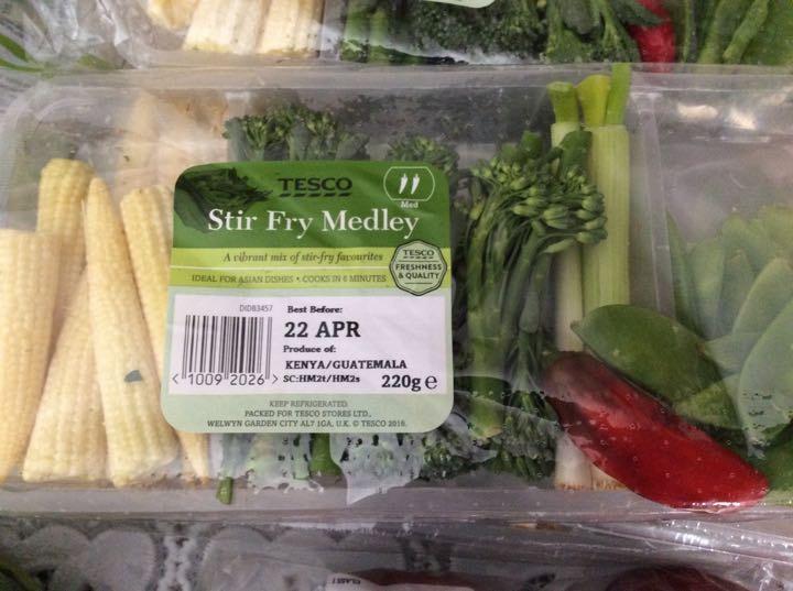 Stir fry medley