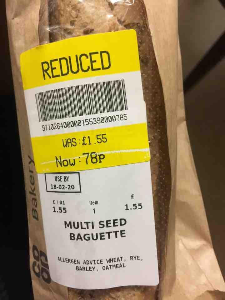 Multi seed baguette