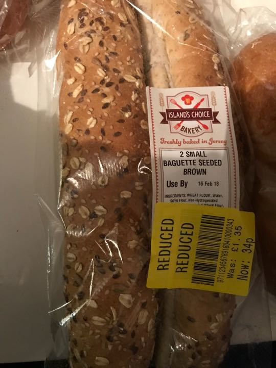 Seeded baguettes