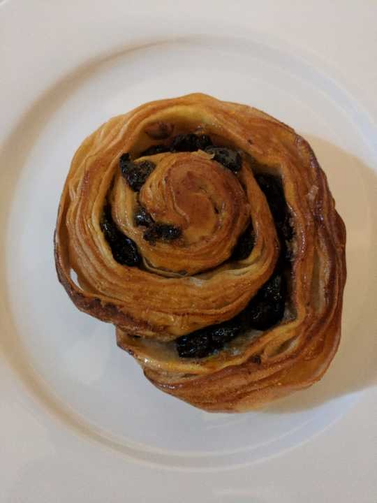 Pan Au raisan kindly donated by Wired Cafe Nottingham