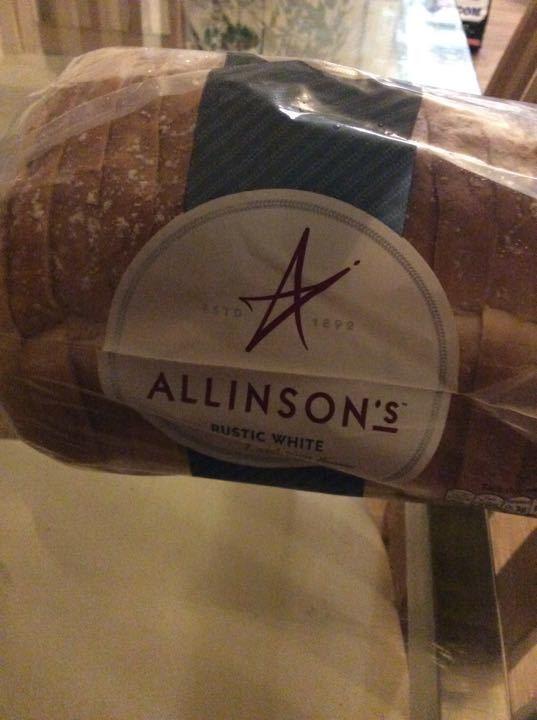 Rustic white bread