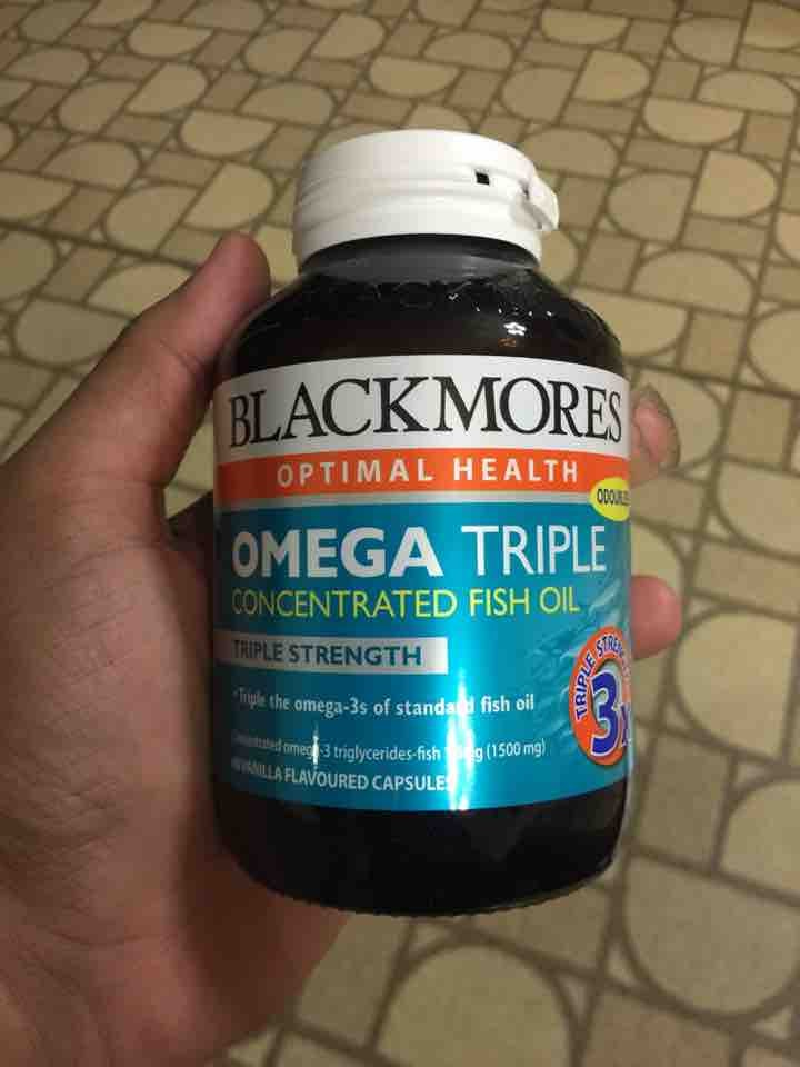 Blackmores Concentrated Fish Oil