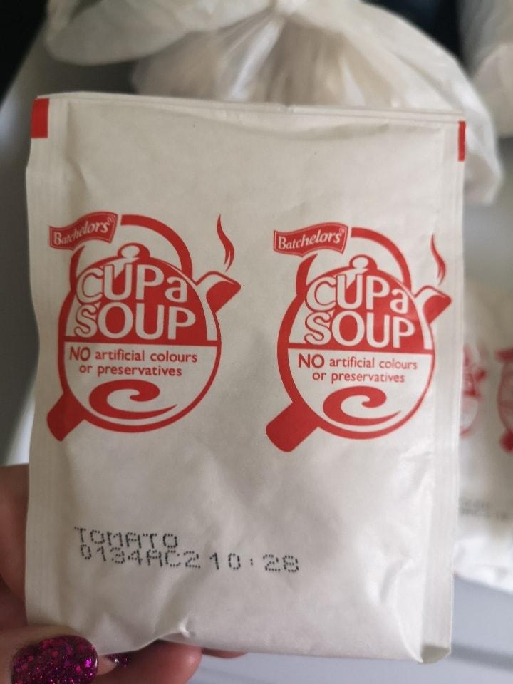 Cupa soup tomatoe
