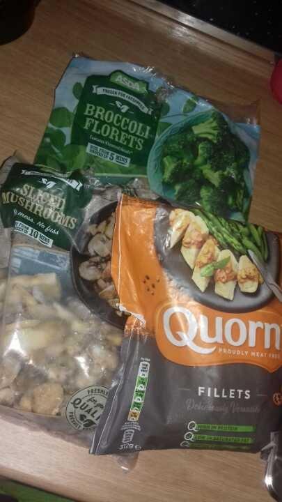 Frozen vegetarian bundle