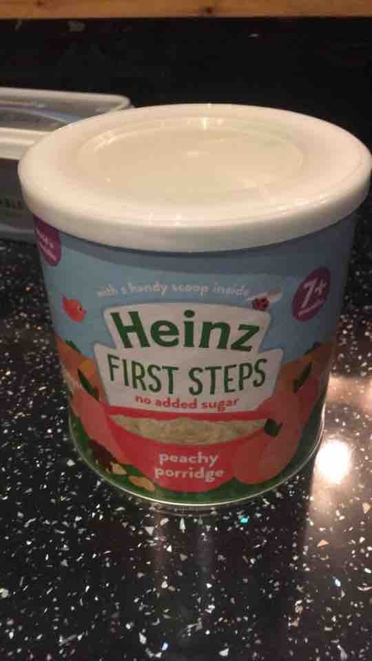 Heinz Peach baby porridge