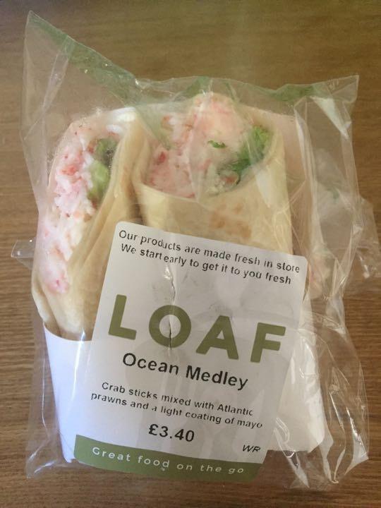 Ocean medley wraps x 3