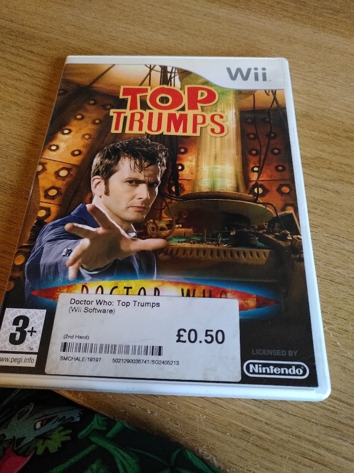 Dr Who Top Trumps Wii