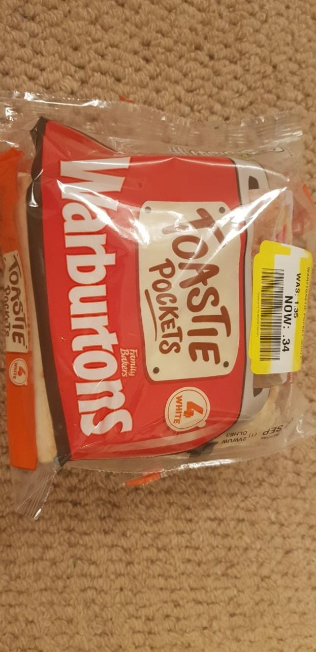 Warburtons Toastie Pockets