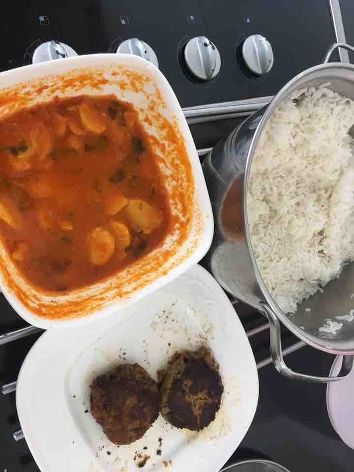 Indian hyderabadi food
