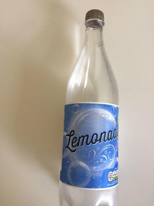 1/3 bottle lemonade
