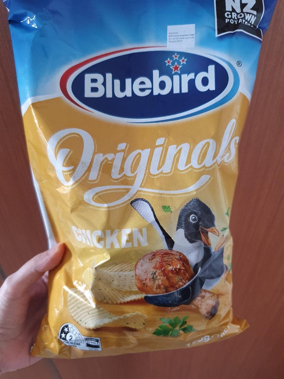 Bluebird chicken potato chips