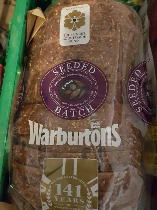 Warburtons seeded