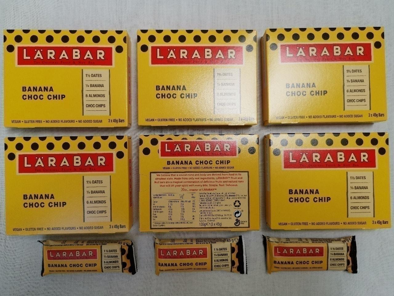 Banana Choc Chip Energy Bars by LaraBar 🍌