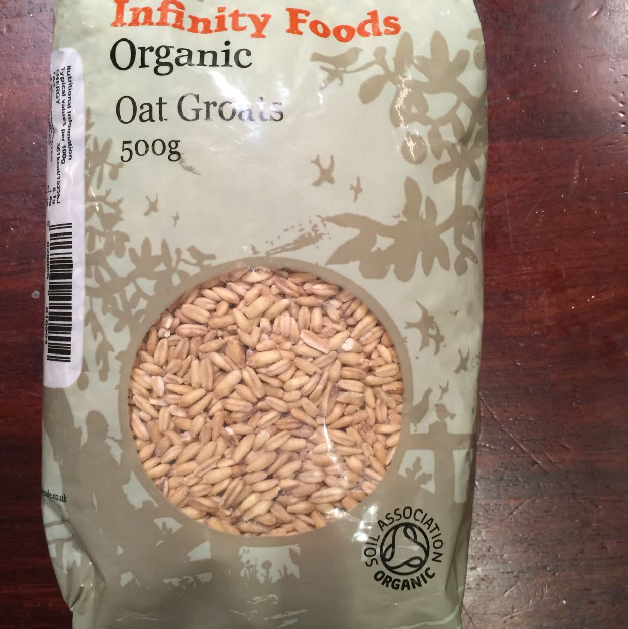 Organic oat groats 500g - OLIO