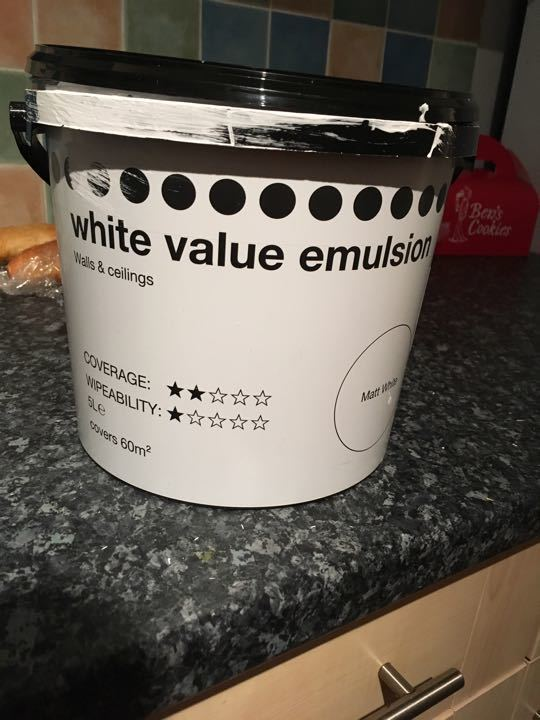 White Matt Emulsion