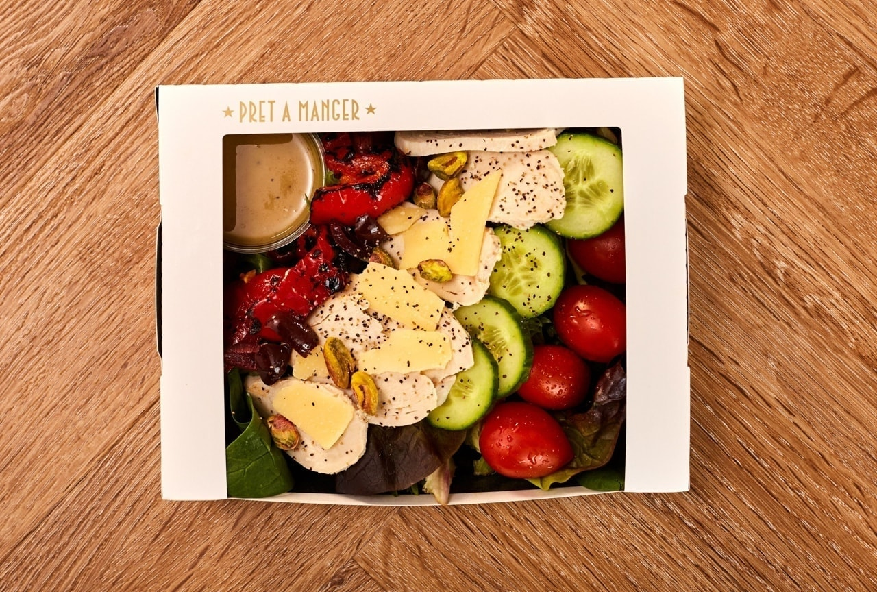 Pret A Manger salads