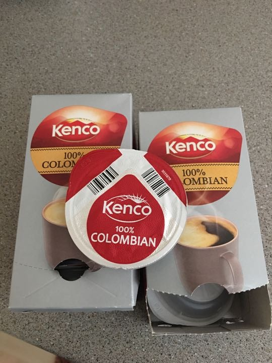 Kenco Tassimo Coffee Pods, colambian coffee