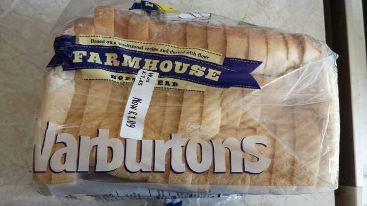 Warburtons farmhouse white bread
