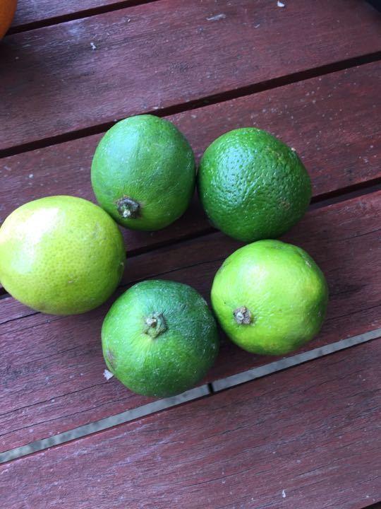 5 limes
