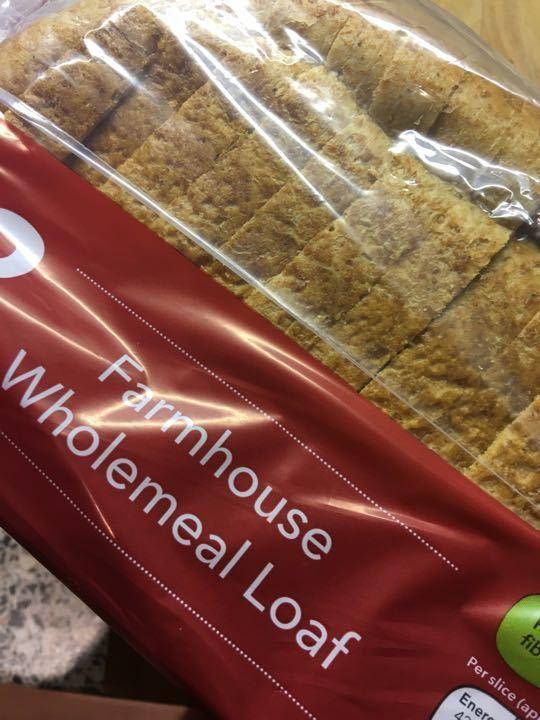 Wholemeal farmhouse sliced X 7