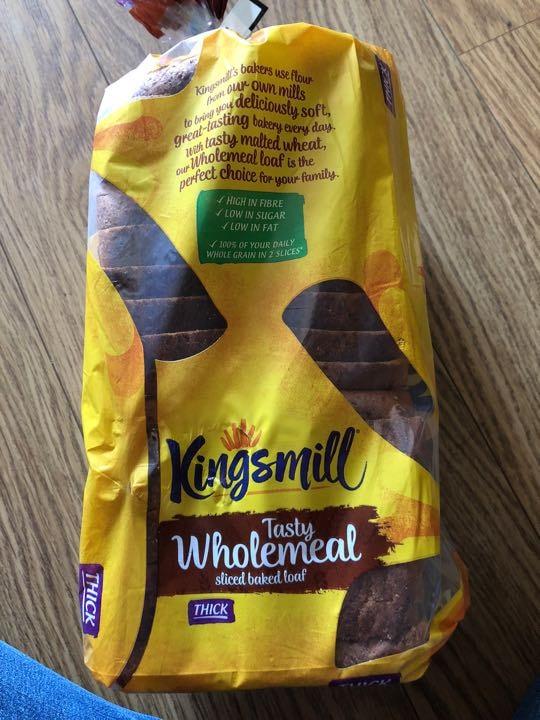Wholemeal kingsmill